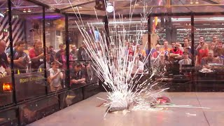 FRA Q8 - Shard v Conker 3 v Beauty 8 - RC Combat Robot Wars - 2015 RC World Championships