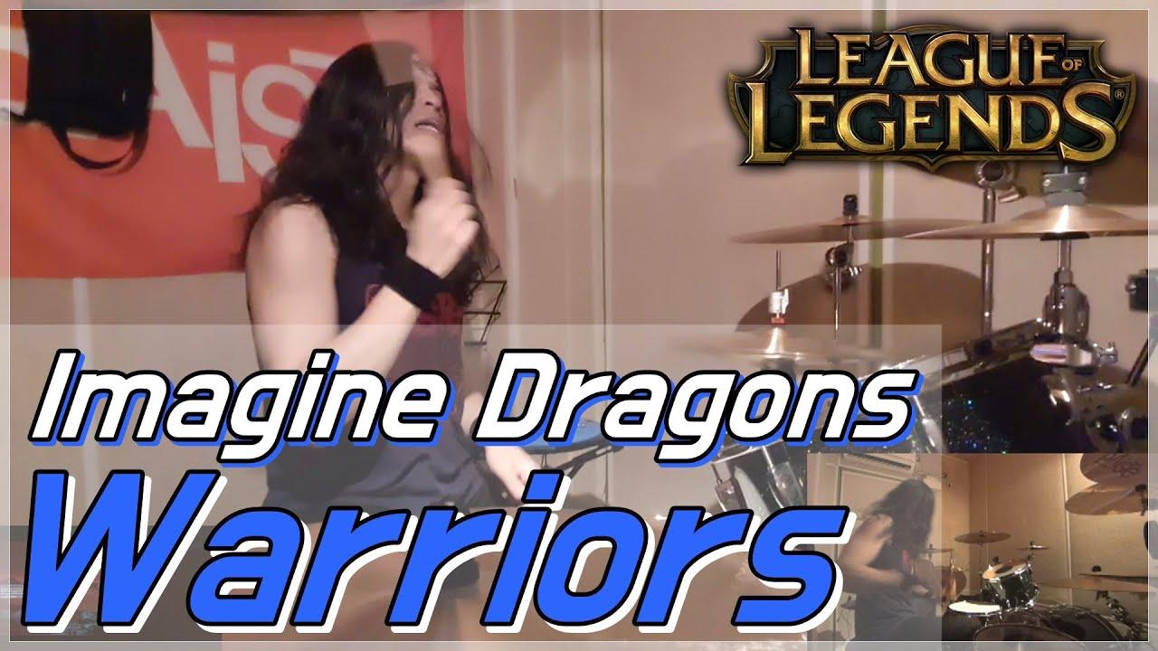 리그 오브 레전드 OST - Warriors - Imagine Dragons - Drum Cover (By Boogie Drum)