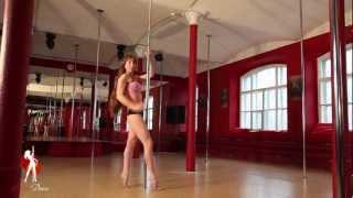 Видеоуроки Школы танцев Exotic Dance. Урок 17: Связка.