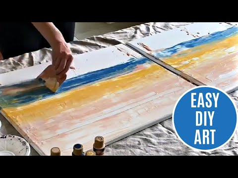 try-this-simple-diy-abstract-wall-art-idea-with-acrylic-paints-on-a-canvas