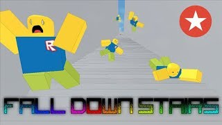 Fall Down Stairs! (ROBLOX) all secret badges (badge #1 #2 #3)