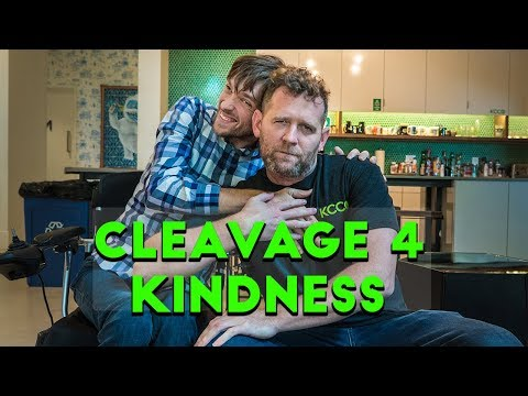 Chive Charities: Cleavage for Kindness  Zach Anner s John Resig