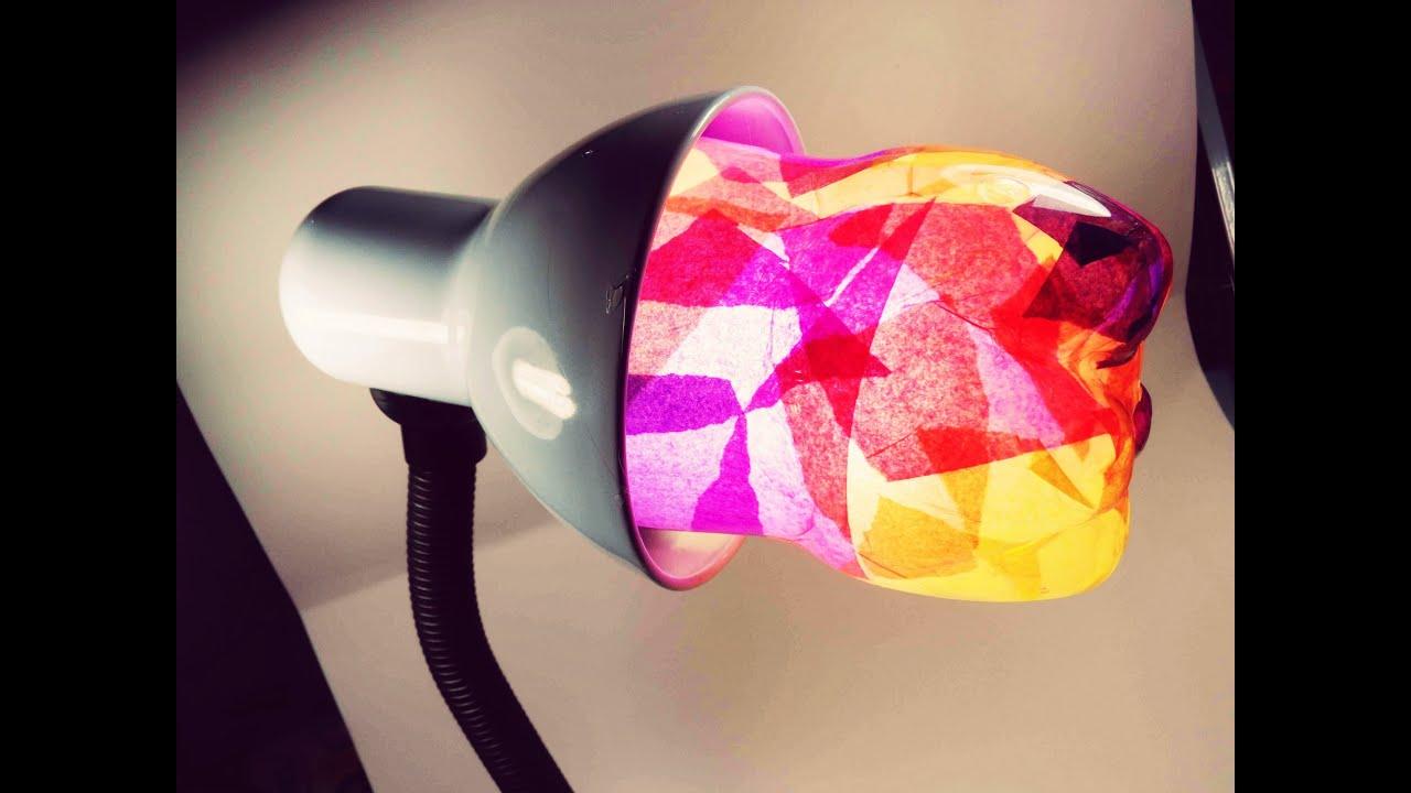 ペットボトルとマスキングテープでランタンDIY☆きれいな色☆リサイクル工作