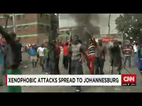 MUST WATCH VIDEO ~Xenophobic attacks spread to Johannesburg~