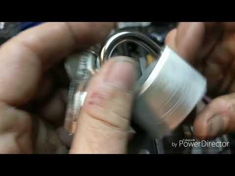 Взлом отмычками ABUS 64 TI/40  (439) ABUS (5-pin) 64 TI/40 spp