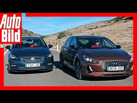 Vergleich Hyundai i30 vs. Opel Astra 2017 i30 besser als Astra Fahrbericht Review