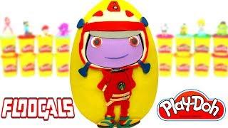 Ovo Surpresa Gigante de Floogals em Português Brasil de Massinha Play Doh
