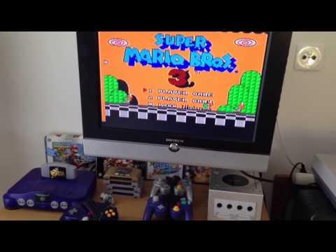 Super Mario Bros 3 Unboxing And Gameplay