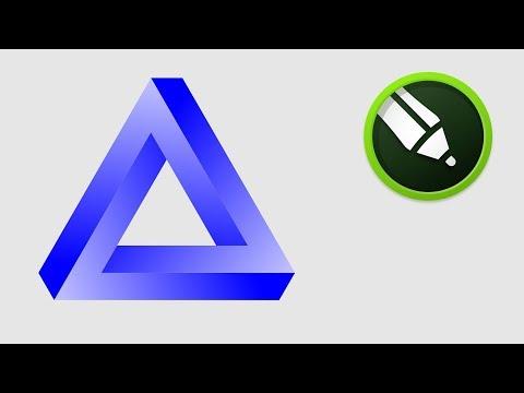 penrose-triangle-in-coreldraw