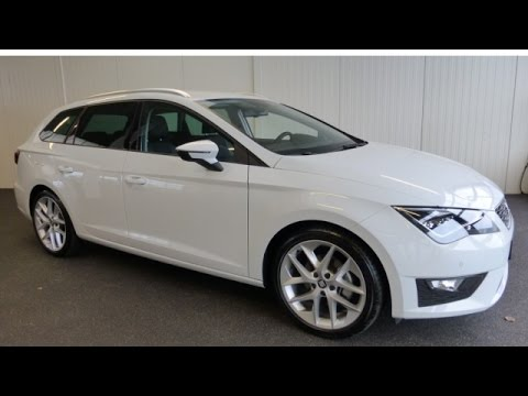 seat leon st 1 4 tsi act fr dynamic youtube. Black Bedroom Furniture Sets. Home Design Ideas