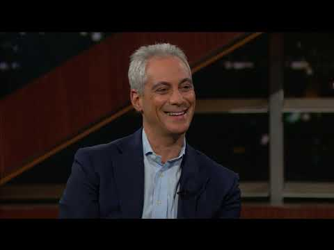 Mayor Rahm Emanuel | Real Time with Bill Maher (HBO)