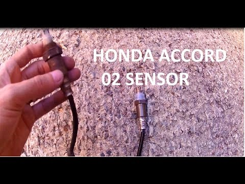 03-07 Honda Accord P1157   02 heated oxygen sensor o2 replacement
