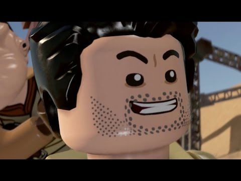 LEGO Star Wars: The Force Awakens - Poe's Quest for Survival Story & Freeplay (All Minikits)