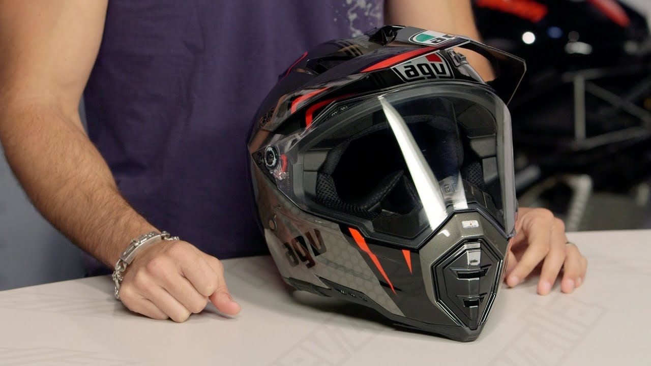 agv ax 8 ds evo gt helmet review at youtube. Black Bedroom Furniture Sets. Home Design Ideas
