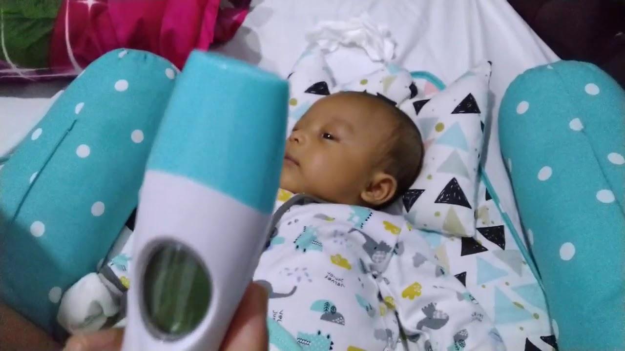 Cara mengukur suhu tubuh bayi dengan benar