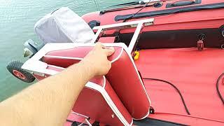 лодка Азимут Custom мини обзор кресла