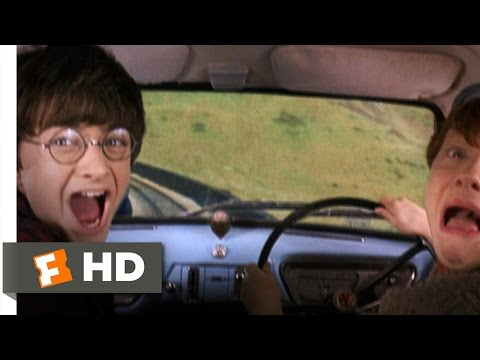 Harry Potter and the Chamber of Secrets (2/5) Movie CLIP - Reckless Flying (2002) HD