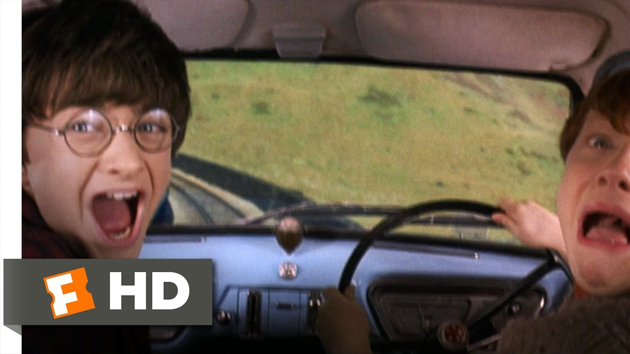 Harry potter and the chamber of secrets 2 5 movie clip - Rone harry potter ...