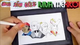 Dibujando Personajes de la Película Héroes Verdaderos