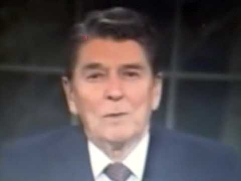 President Reagan warns of Revisionist history