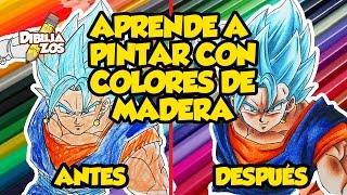 COMO COLOREAR CON COLORES DE MADERA | FÁCIL | APRENDES RÁPIDO