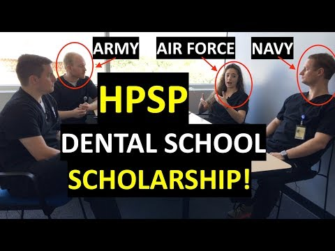 HPSP Q&A session with ARMY / AIR FORCE / NAVY dental students