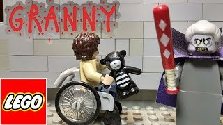 LEGO GRANNY horror game STOP MOTION animation