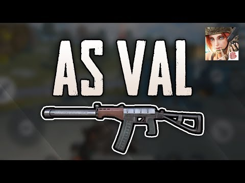 AS VAL (+15-Kill Game!) - Rules Of Survival In-Depth Guide (Damage Stats + More)