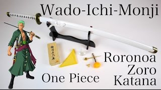 One Piece - Zoro´s Wado-Ichi-Monji - gefaltet, Set [40300]