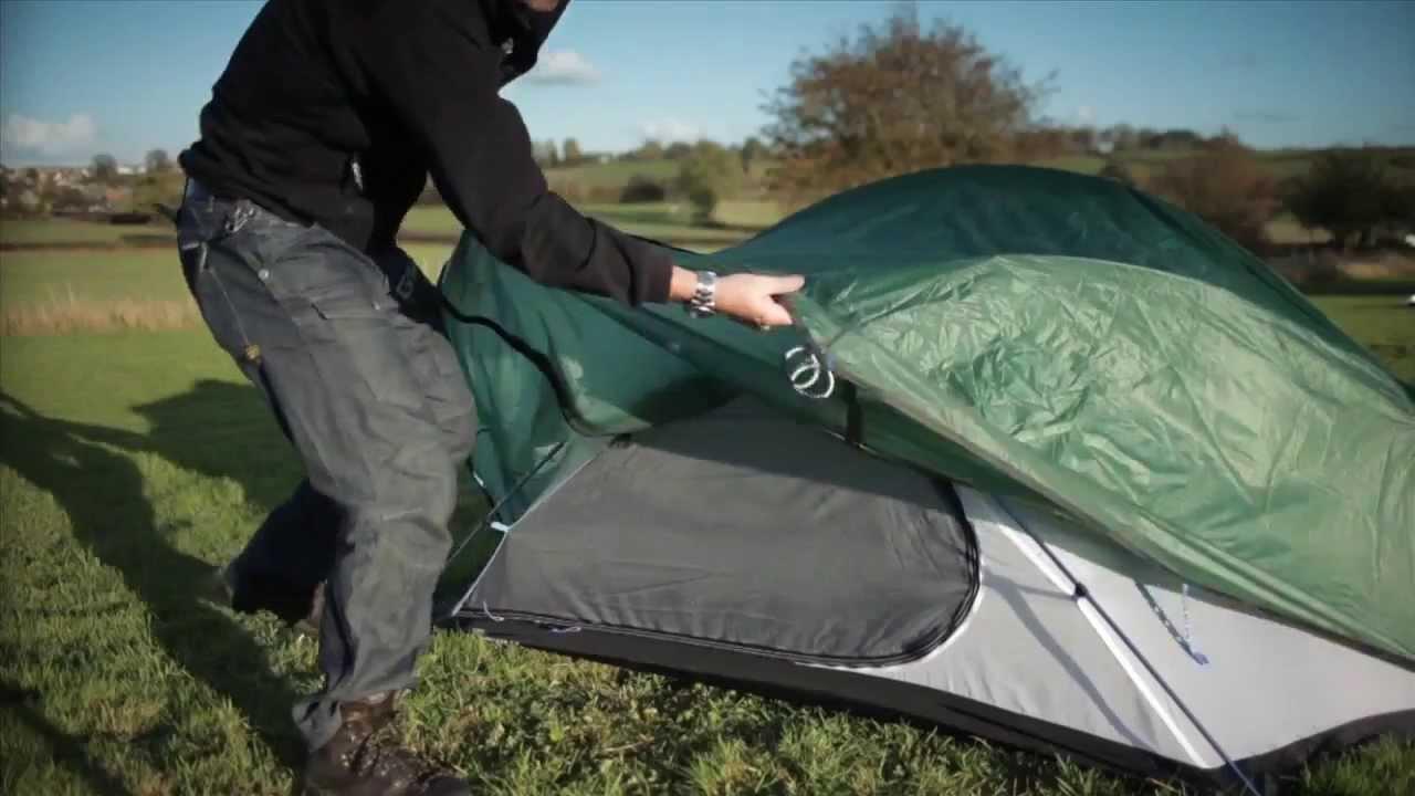 Terra Nova voyager 2.2 Tent - CycloC&ing.com & Terra Nova voyager 2.2 Tent - CycloCamping.com - YouTube