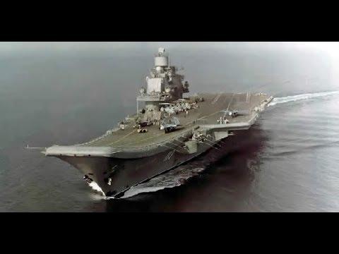 "Russia's Biggest Warship ""Admiral Kuznetsov 063"" Steams to Syria."