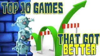 Top 10 Games That Got Better