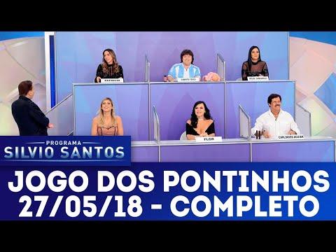 Jogo dos Pontinhos - Completo   Programa Silvio Santos (27/05/18)