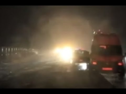 Автобус, следовавший рейсом Москва - Донецк, перевернулся в Воронежской области