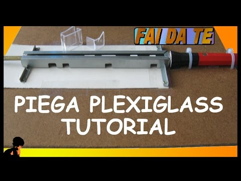 Piega plexiglass fai da te tutorial youtube for Piega lamiera fai da te