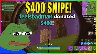 DAKOTAZ $400 BET!!! DID NINJA SABOTAGE?!?!  Fortnite highlights #245
