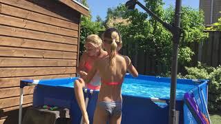 Samen met Floortje zwemmen