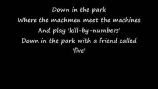 Marilyn Manson - Down in the Park Lyrics