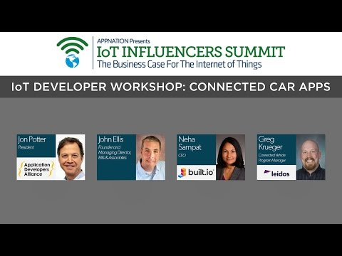 IoT Developer Workshop: Connected Car Apps
