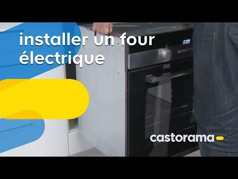 Montage caisson four et micro ondes doovi - Installer un four encastrable ...