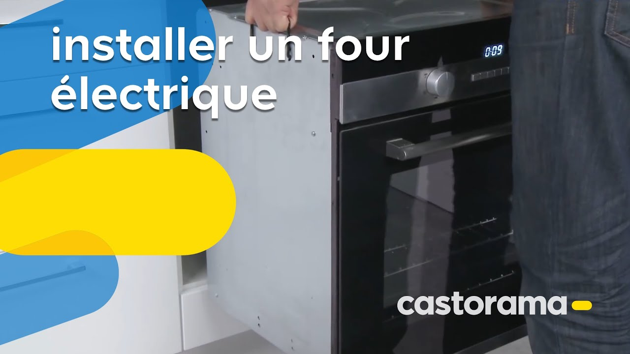 installer un four électrique (castorama) - youtube - Comment Installer Un Four Encastrable Dans Un Meuble