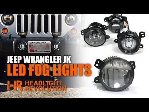 In The Garage With Performance Corner Vision X Fog Lig