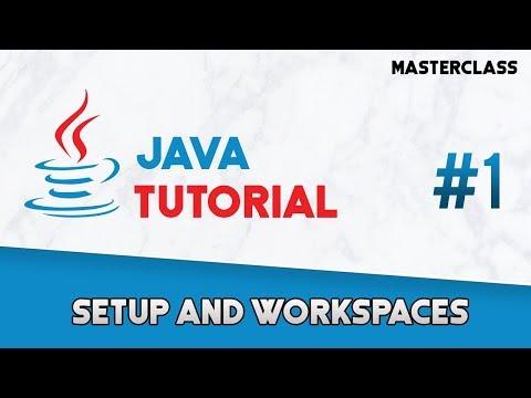 java-programming:-complete-tutorial---setup-and-workspaces-(#1)