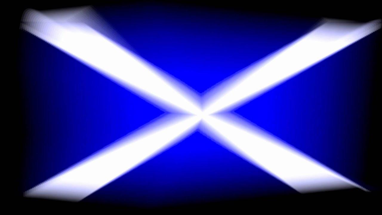 scottish saltire flag of scotland animation 1080p hd youtube