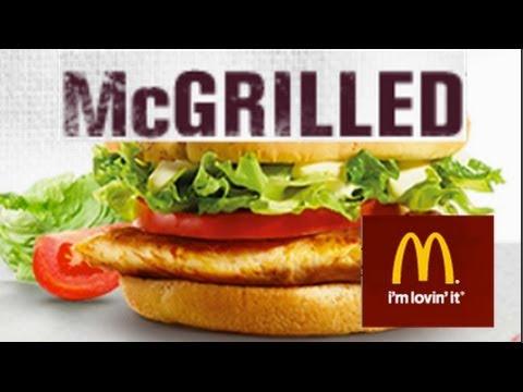 mcdonald 39 s mcgrilled chicken burger taste test youtube. Black Bedroom Furniture Sets. Home Design Ideas