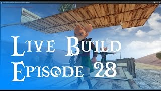 Live Build 28 - Building A Wooden Fort