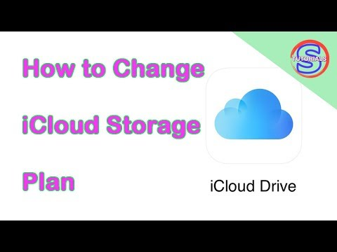 How to Change iCloud Storage Plan