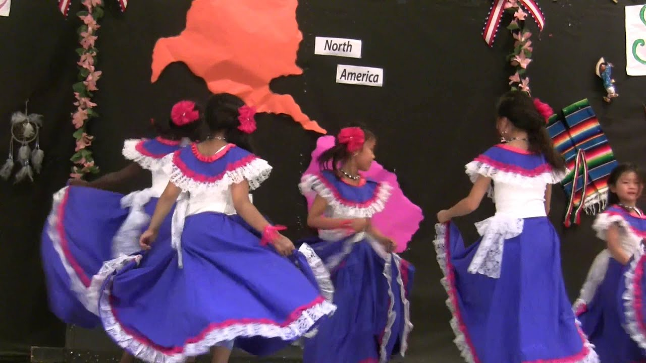 El Salvador Folk Dance - YouTube