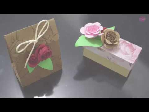 Tutorial Rosas de papel - Como fazer flores de papel