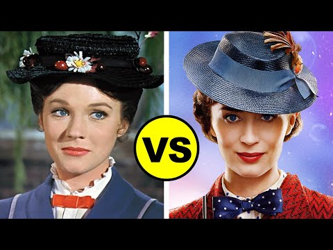 MARY POPPINS RETURNS vs Mary Poppins 1964